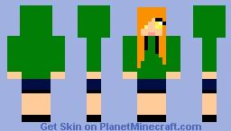 cupa (girlfriend mod) Minecraft Skin
