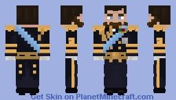Uniform of King George V of Great Britain Minecraft Skin