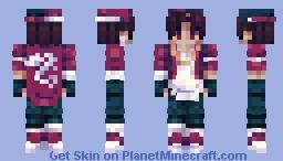 回 ℍ𝕠𝕥 𝕤𝕒𝕦𝕔𝕖 Minecraft Skin