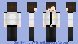 Dave Miller 1990s 64x64 Minecraft Skin