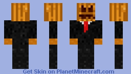 [Halloween] Pumpkin Man Minecraft Skin