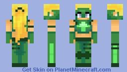 Artemis Crock (Young Justice) Minecraft Skin