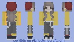 Ghostbur girl Minecraft Skin