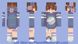 Galaxy karl Jacobs Minecraft Skin