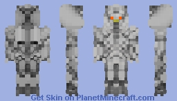 Megatron Transformers revenge of the fallen Minecraft Skin