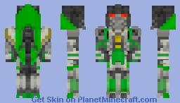 Thrust from Bumblebee movie Minecraft Skin
