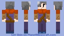 Aria (Crypt of the Necrodancer) Minecraft Skin