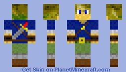 Custom Link (No Cap) Minecraft Skin