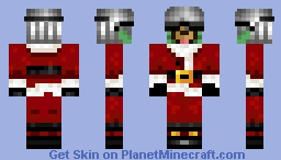 Cool santa dawg!!!!! Minecraft Skin