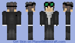 SCP 05 Council OC | Dr. Alastor J. [REDACTED] | SCP-048 Minecraft Skin