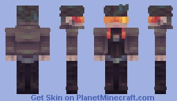 Cyber Sleuth Minecraft Skin