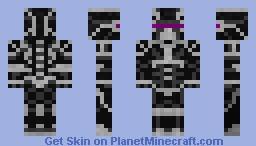 Chaos Nanosuit - Original Model Minecraft Skin