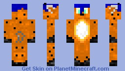 oil leach Minecraft Skin