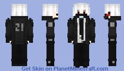 Cyberpunk Minecraft Skin