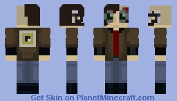Cyberpunk Guy Minecraft Skin
