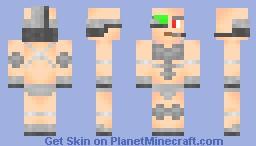 Human Cyborg (Cyberpunk Skin Contest) Minecraft Skin