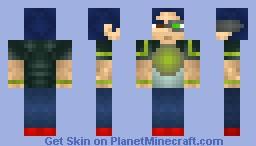 Cyberpunk Guy [CONTEST] Minecraft Skin