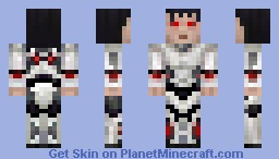 Xixi745B [Contest Entry] [Detailed, Chillingly Realistic Backstory] Minecraft Skin