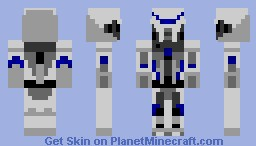 cylon blue Minecraft