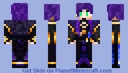 Mage King Cyrus Amondrial Minecraft Skin