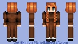 Anne of Green Gables Minecraft Skin