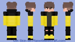 Black and Yellow 🐝 Minecraft Skin