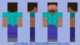 steve with no eyes Minecraft Skin