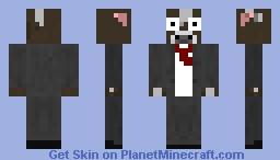 Salted Crafted Movie Alternative Minecraft Skin