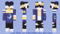 🌙 光 // midnight downtown Minecraft Skin