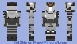 Destiny 2 Inotam, Oblivion's Triune Minecraft Skin