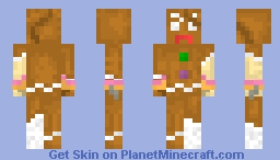Ginger the Convicted Cracker Minecraft Skin