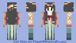 Li Fang (Mulan Disney guest) Age 56 Female Warrior Minecraft Skin