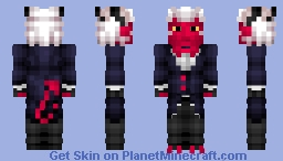 Moxxie | Helluva Minecraft Skin
