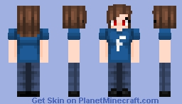 Facebook (female) Minecraft Skin