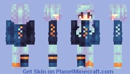 [Kari] Aqua || Skin Fight Minecraft Skin