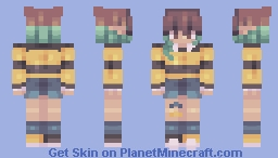 i like bees Minecraft Skin