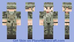 ARVN Rangers《Vietnam War》 Minecraft Skin