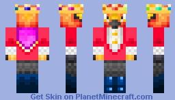 What if FireBird was Technoblade (What if FireBird was _____) Minecraft Skin