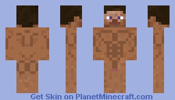 Muscle Steve (No Clothes) Minecraft Skin