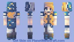 ⭐ Starry Night . Request ⭐ Minecraft Skin