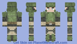 UNSC Marine Halo 3 Minecraft Skin