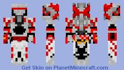 Kamen Rider Saber Dragonic Knight Minecraft Skin