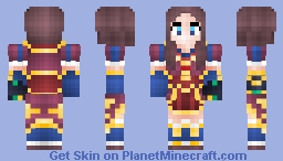 Fate/Grand Order - Leonardo Da Vinci Minecraft Skin