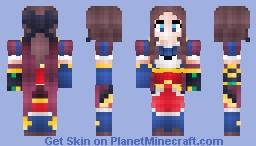 Fate/Grand Order - Da Vinci Lily Minecraft Skin