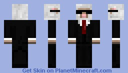 sheep with a suit Minecraft Skin