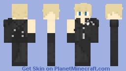 Cloud Strife - Final Fantasy: Advent Children Minecraft Skin