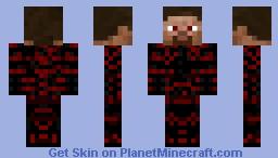 Daedric Steve (Skyrim) Minecraft Skin