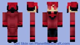 Alastor from Hazbin hotel {catlightning77} Minecraft Skin