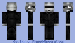 Thomas Bangalter (Daft Punk) Minecraft Skin