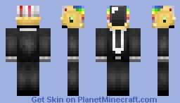 Guy manuel-Daft Punk Minecraft Skin
